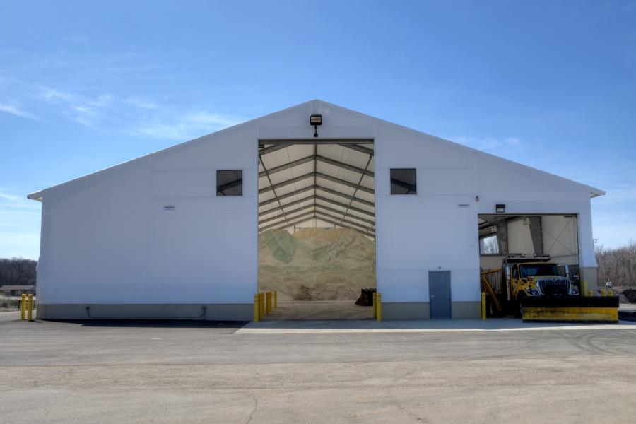 "Legacy fabric buildings utilize a durable rigid frame in place of the hollow-tube, open web truss ""hoop"" framing traditionally used for fabric structures."