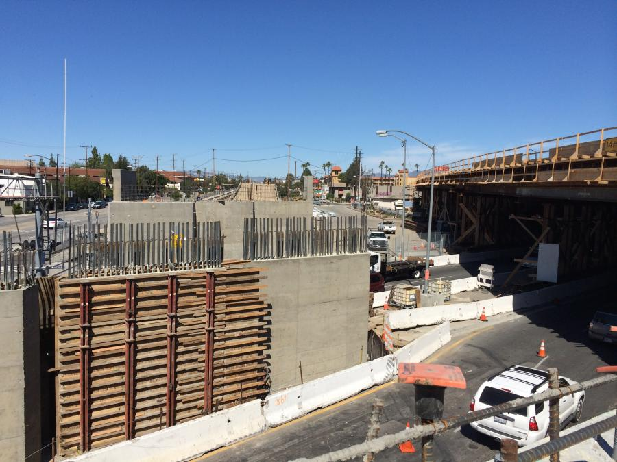 California's much-used Interstate 5 in Los Angeles County is getting a makeover.