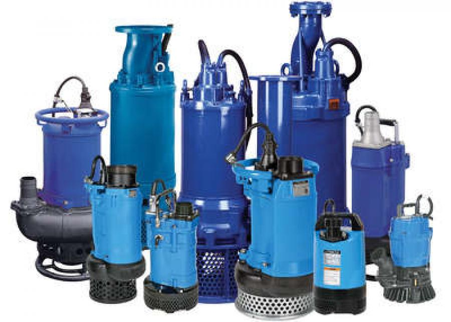 Tsurumi Pump product line.