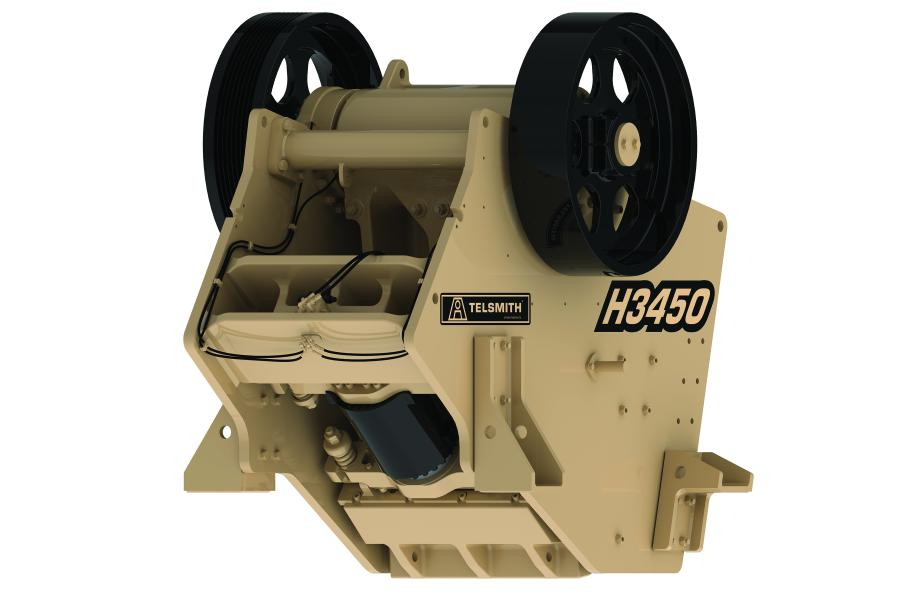 H3450 Hydra-Jaw crusher.