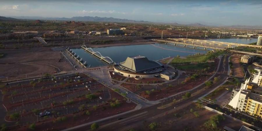 Arizona's second-largest tourist attraction, Tempe Town Lake, has new life, due to PCL Construction and concrete products provided by Cemex USA.