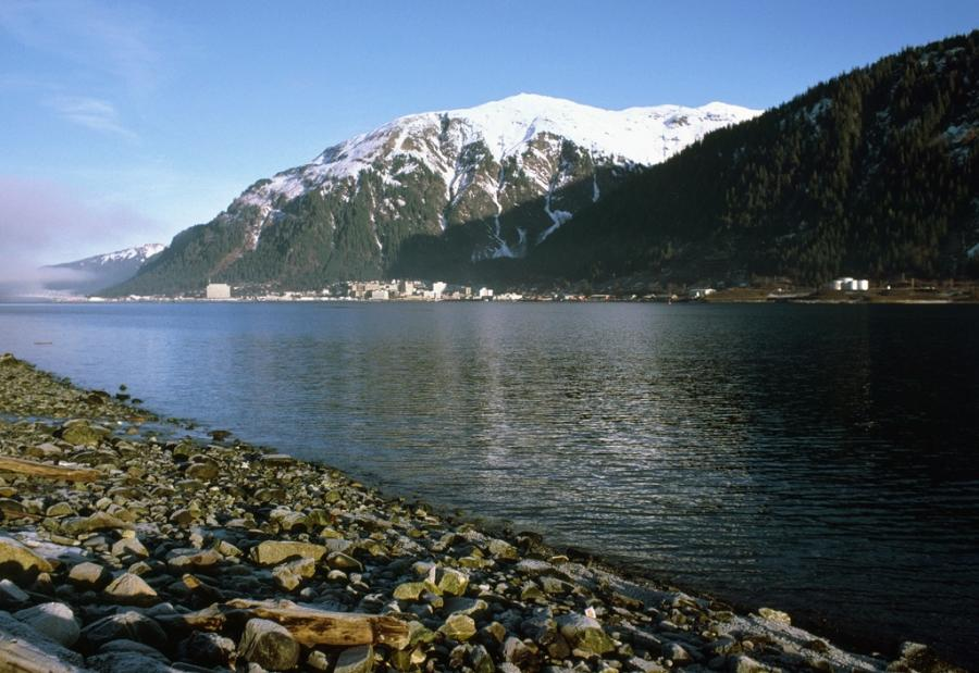 The Gastineau Channel and Mt. Juneau. http://url.ie/11ngo