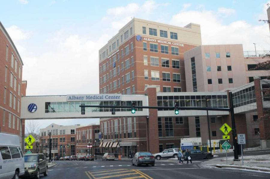Albany Medical Center. Photo by Michael P. Farrell.