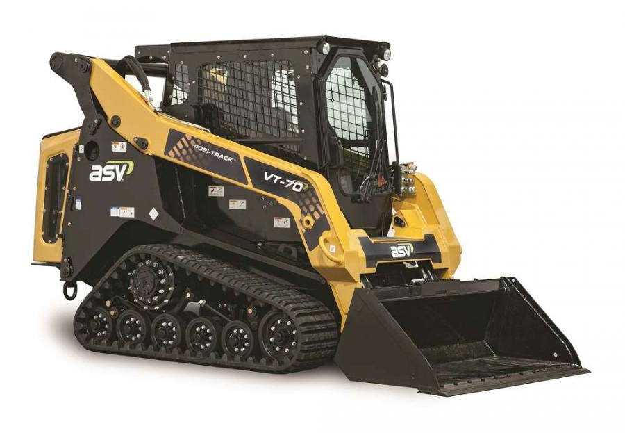 VT-70 Vertical Lift Compact Track Loader.
