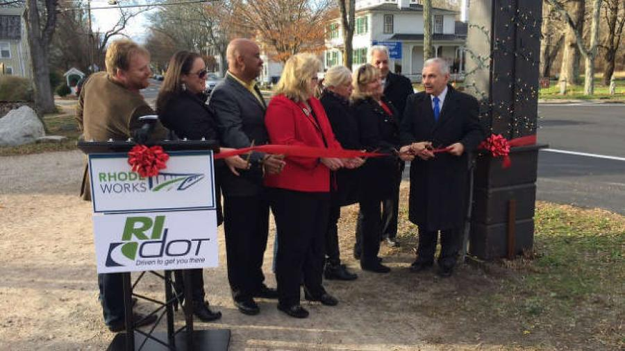 RIDOT) officials were joined by Sen. Jack Reed at a ceremony to mark the completion of a resurfacing project to address poor pavement conditions on parts of Route 138. via http://url.ie/11nkz