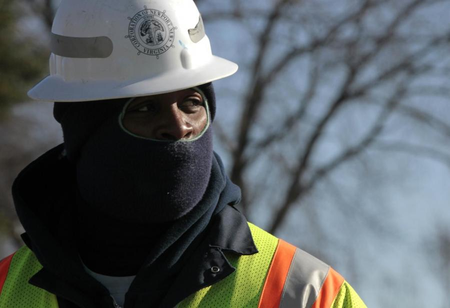 Cold weather gear is essential for working in extreme winter weather.