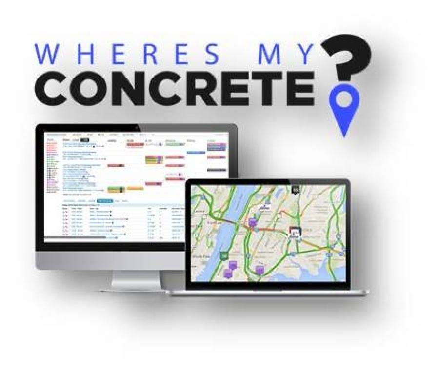 WheresMyConcrete is a  a cloud-based and telematics-connected dispatching, analytics and customer service tool.