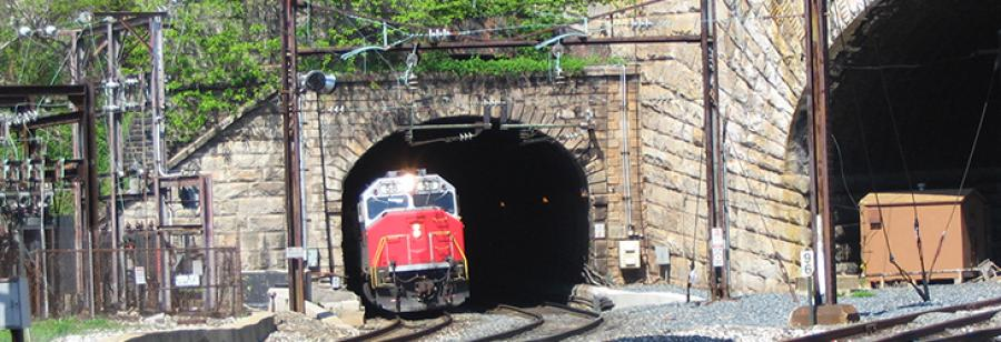 The old B&P tunnel. http://url.ie/11nsz