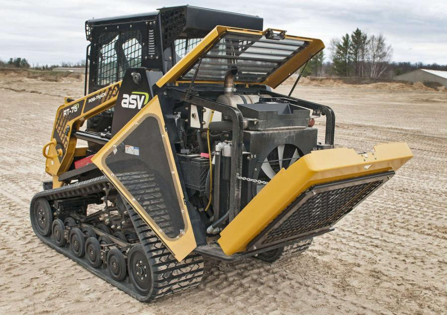 RT-75 Posi-Track compact track loader offers versatility with its high ground clearance, low ground pressure and superior traction for a variety of conditions, from fragile turf, mud and wet ground to slopes, ice and snow.