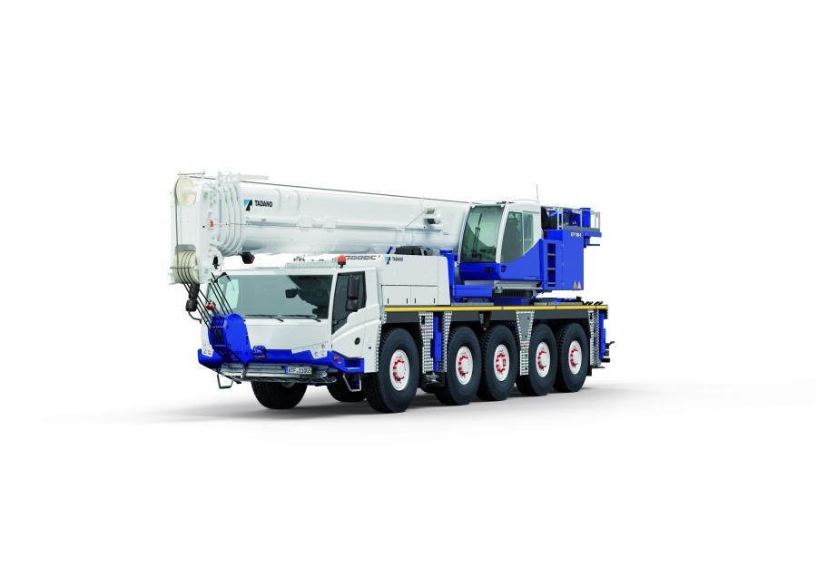 Tadano ATF110G all-terrain crane.