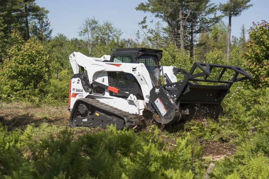 This forestry cutter model boasts up to 17 percent more mulching production.
