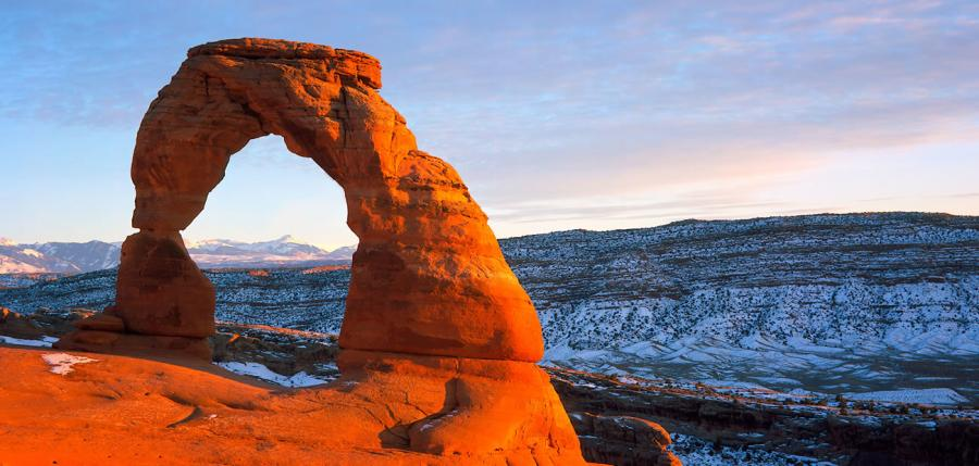 Arches National Park. http://url.ie/11nze