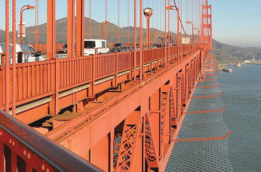 The Golden Gate Bridge Physical Suicide Deterrent System and Wind Retrofit Project is estimated to begin this year and be completed in 2021.