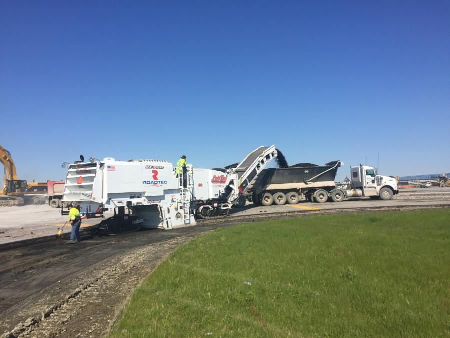 After years of maintenance on the runway, the Wayne County Airport Authority decided it was necessary for a partial runway reconstruction of Runway 4L/22R and associated taxiways.
