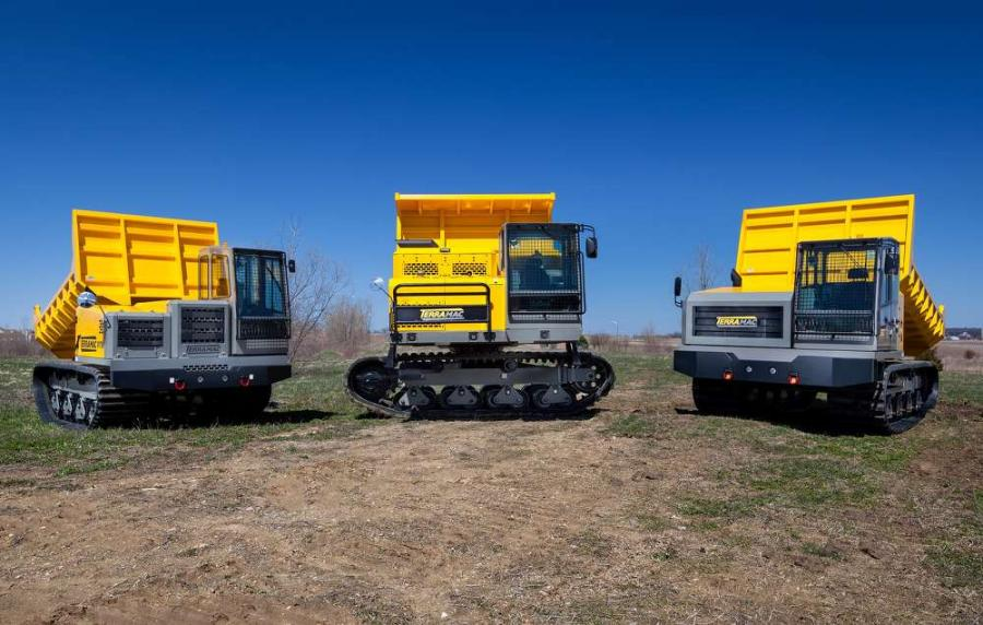 Terramac will display its versatile RT9, RT14 and RT14R crawler carriers at CONEXPO 2017.