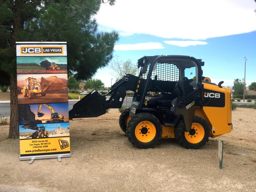 JCB of Las Vegas, will offer backhoe loaders and telehandlers, rough terrain forklifts, large and compact excavators, skid steers and compact track loaders with side-entry doors and a single-arm PowerBoom.