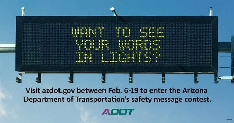 ADOT has featured these creative and unusual signs for over a year.