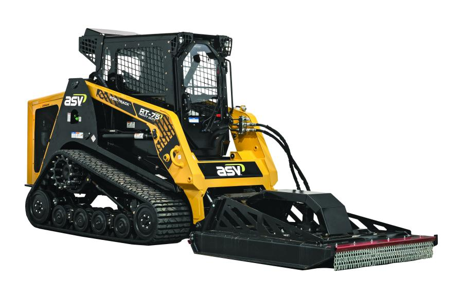 ASV RT-75 HD brush cutter.