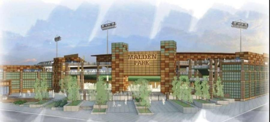 Artist rendering of Malden Park. http://url.ie/11oh5