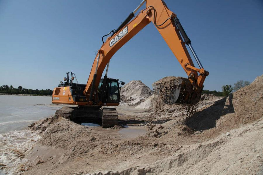 As the construction industry in the Carolinas continues to improve, the company needed to add capacity to its raw material production that supports its fieldwork — the company owns and operates a sand pit locally that feeds all of its sites.