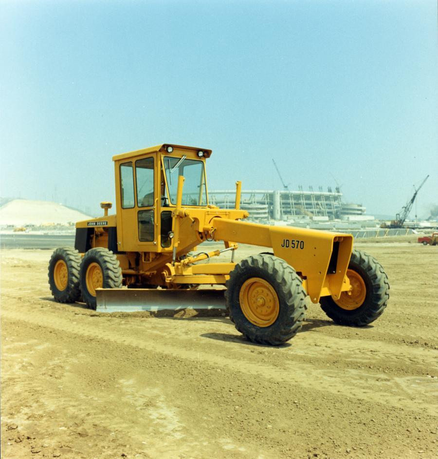 John Deere restored JD570 model.