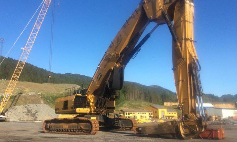 Ironplanet Facilitates Sale Of World S Largest Demolition Excavator Ceg