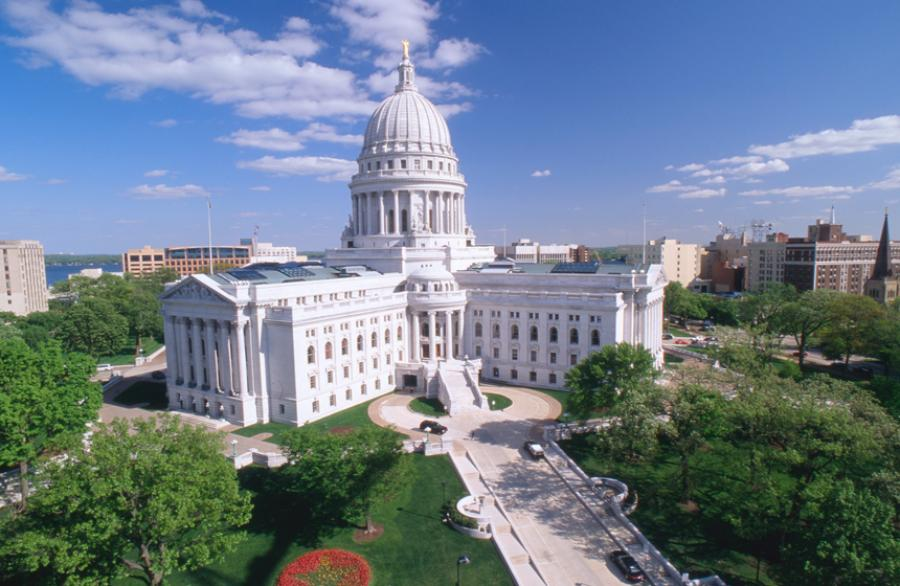 Wisconsin state house.