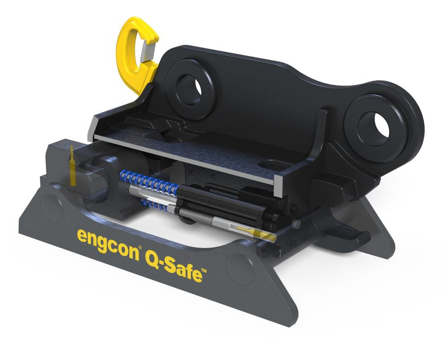 Engcon Q-Safe coupler.