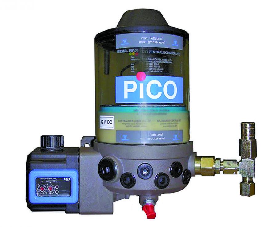 The compact PICO-pump offers compact dimensions with high performance
