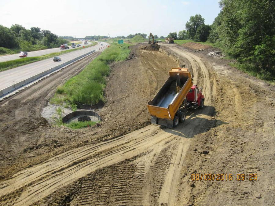 Lunda Finishes Fifth, Final Step of Hwy  610 | Construction