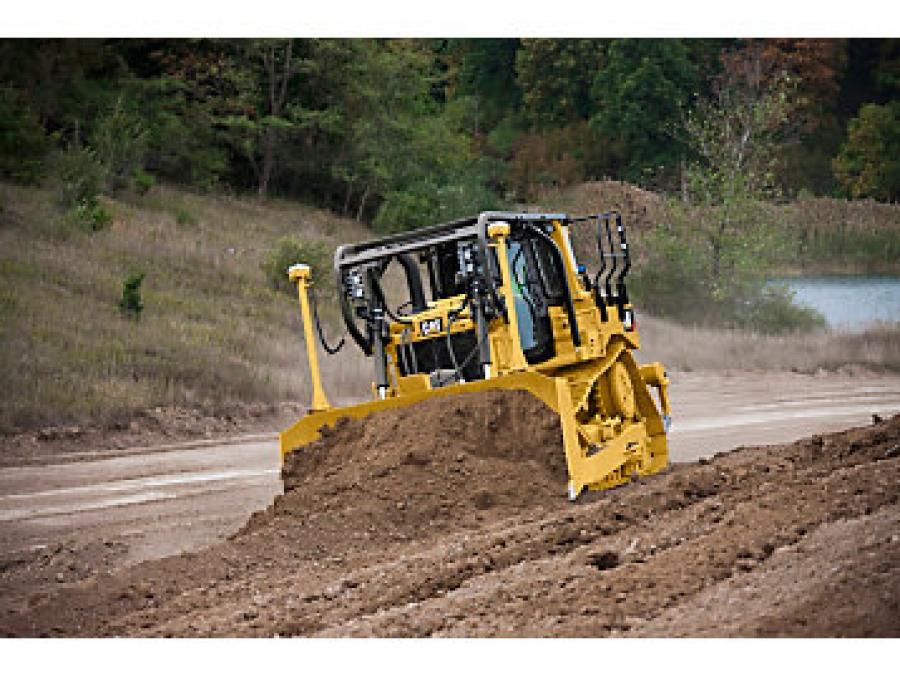 Cat GRADE with Slope Assist is now standard on the D6T.