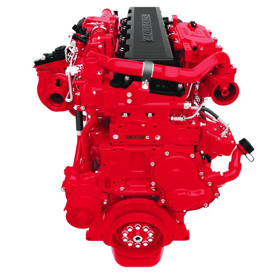 Cummins 450-Hp ISX12 engine.