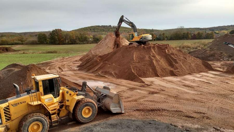 Whatever the terrain, Barber Utilities relies on Volvo machines to get the job done quickly and efficiently.