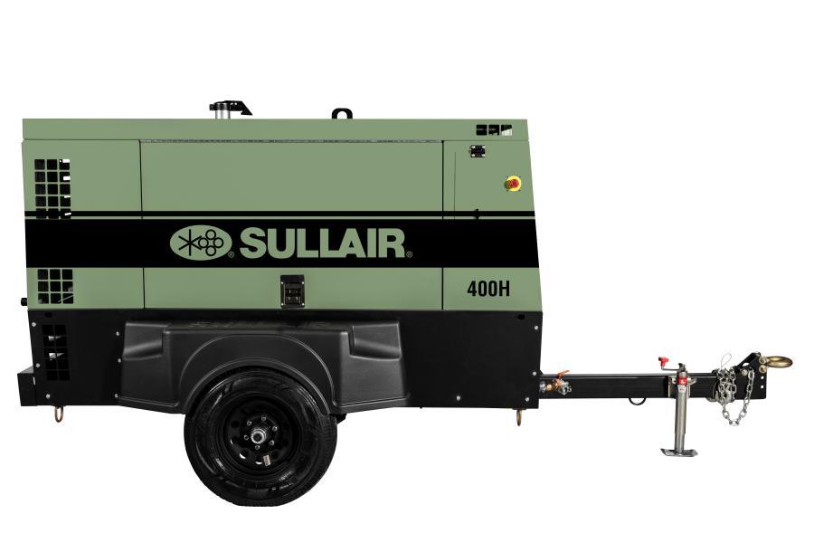 Sullair introduced its new 400H Tier IV Final portable air compressor at ConExpo-Con/Agg 2017.