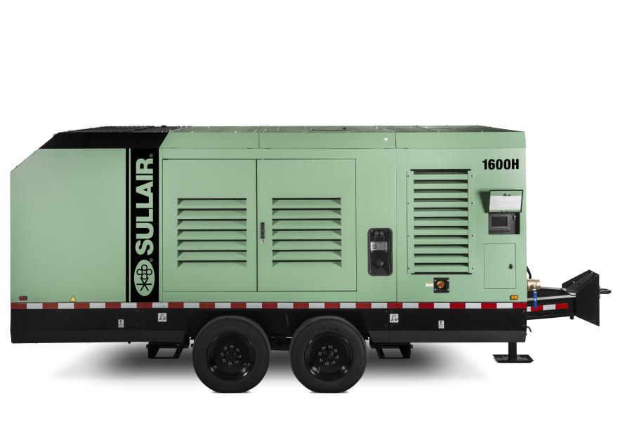 1600H Tier 4 Final portable air compressor.