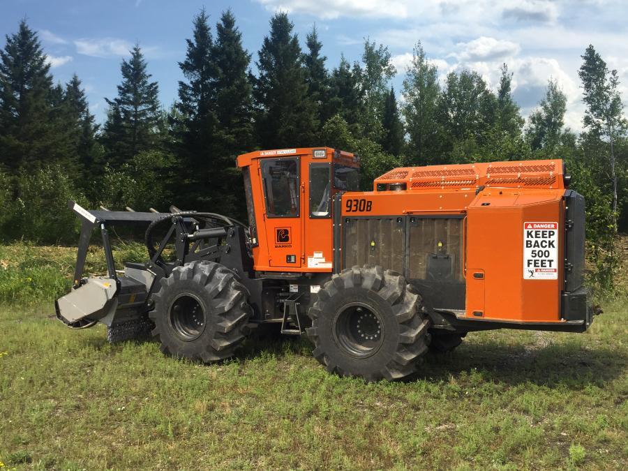 Barko 930b wheeled tractor.