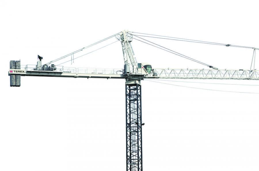 Terex SK 452-20 HammerHEAD Tower Crane
