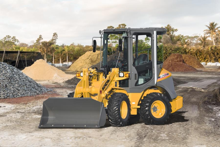 KCM 30ZV-2 wheel loader.