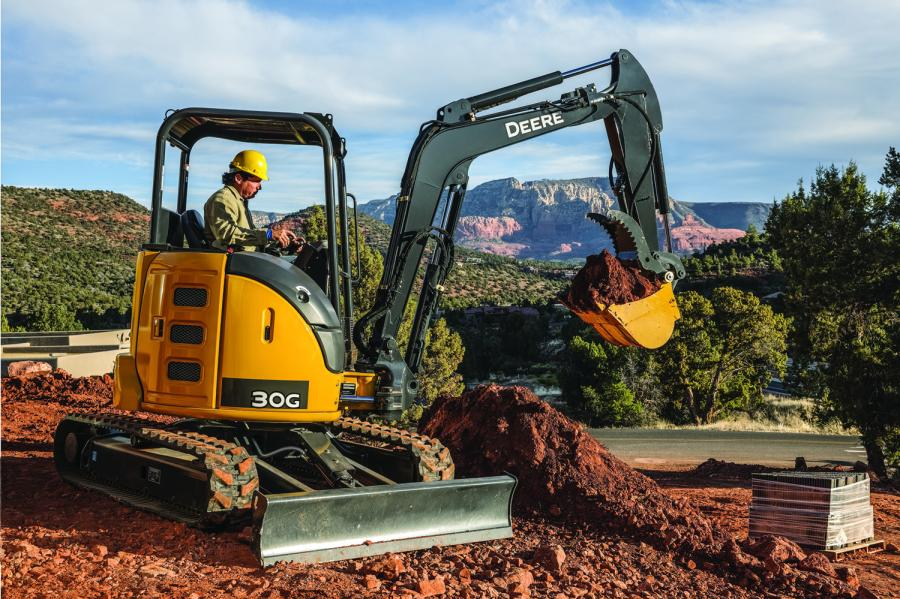The 30G will provide customers with an additional model in the popular three to four metric ton size class of compact excavators. It also provides an updated model to the 27D.