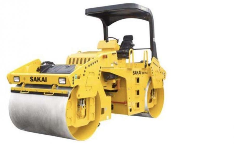The new Sakai SW754, 67-inch vibratory tandem drum roller launched at CONEXPO-CON/AGG 2017 retains features of the successful 770-series line while offering improved operating efficiency and greater ease in maintenance.