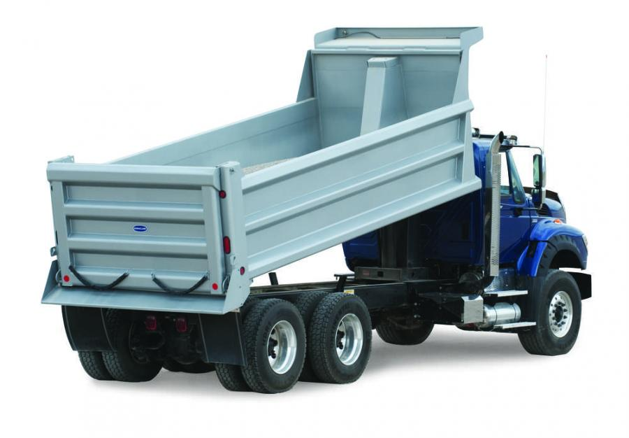 The DuraClass HPT-316 dump body will be at the Work Truck Show, March 14–17