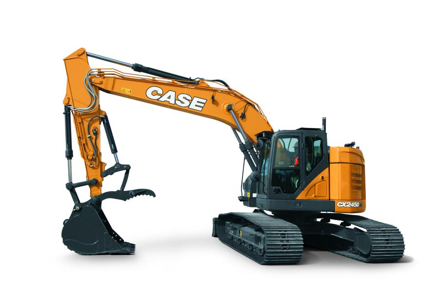 Case CX245D Minimum-Swing Excavator