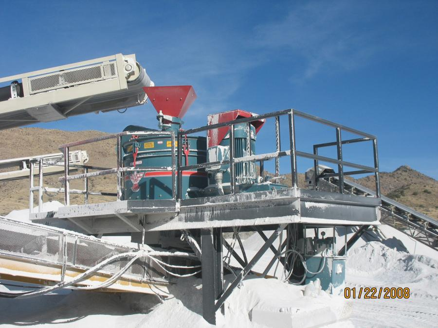 CEMCO Inc.'s Compact Turbo 54 VSI Crusher