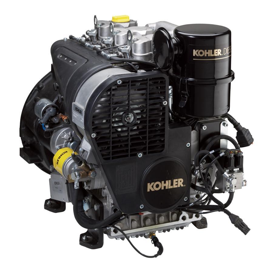 Kohler diesel engine.