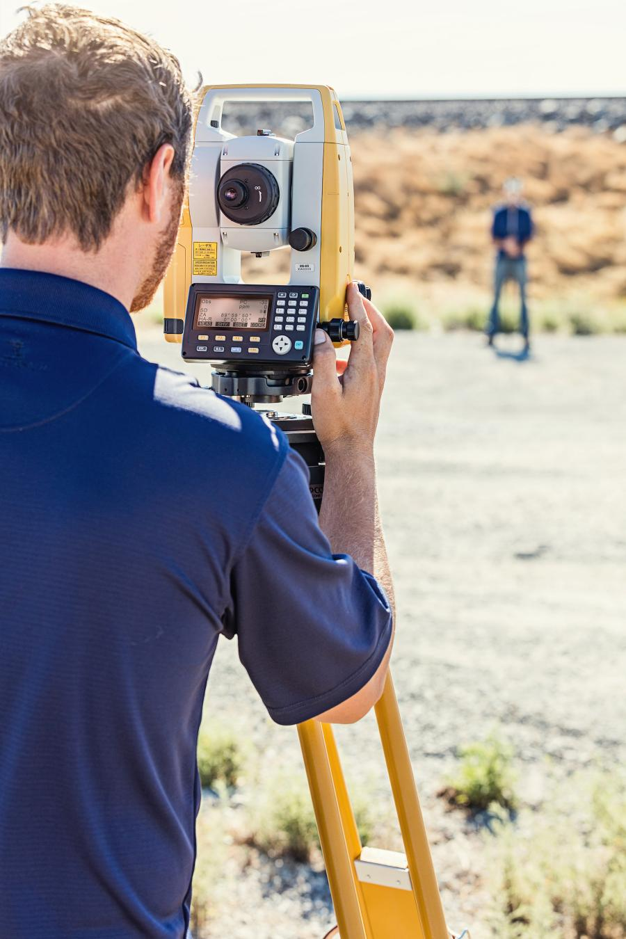 ES Series Total Station With Advanced Data Transfer Functionality by Topcon.