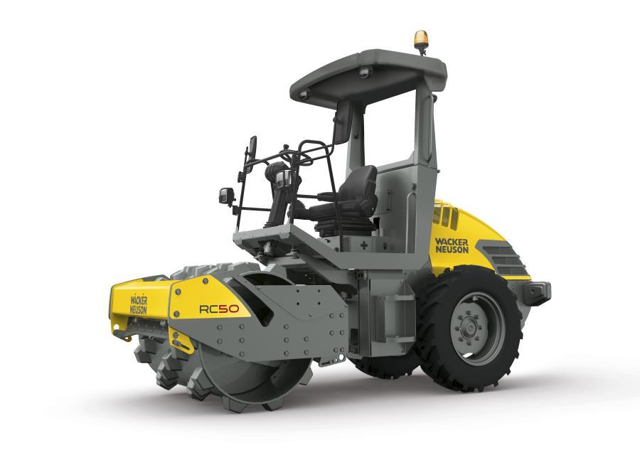 Wacker Neuson RC50 soil compactor roller.