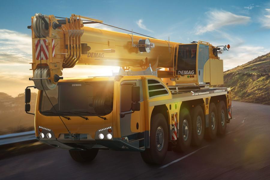 Demag 5-Axle AC 130 crane