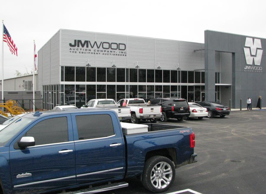 The newly expanded and renovated JM Wood Auction headquarters facility in Montgomery, Ala