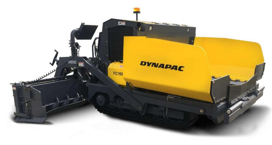 Dynapac launches the new FC1600C tracked commercial paver. The paver features two bottom augers mounted with the screed extension to provide continuous delivery of material for wide width paving applications.