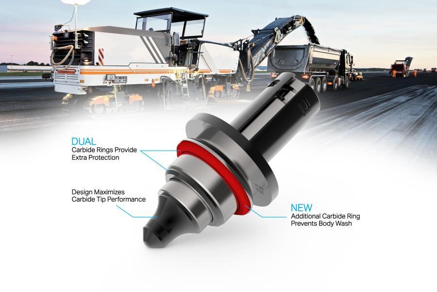 New Sandvik Double TriSpec Tools Last Longer in Abrasive Asphalt